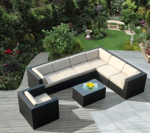 Use Sectional Sofa As A Patio Couch  A Great Extension Of Your Intended For Patio Sofas (Photo 2 of 10)