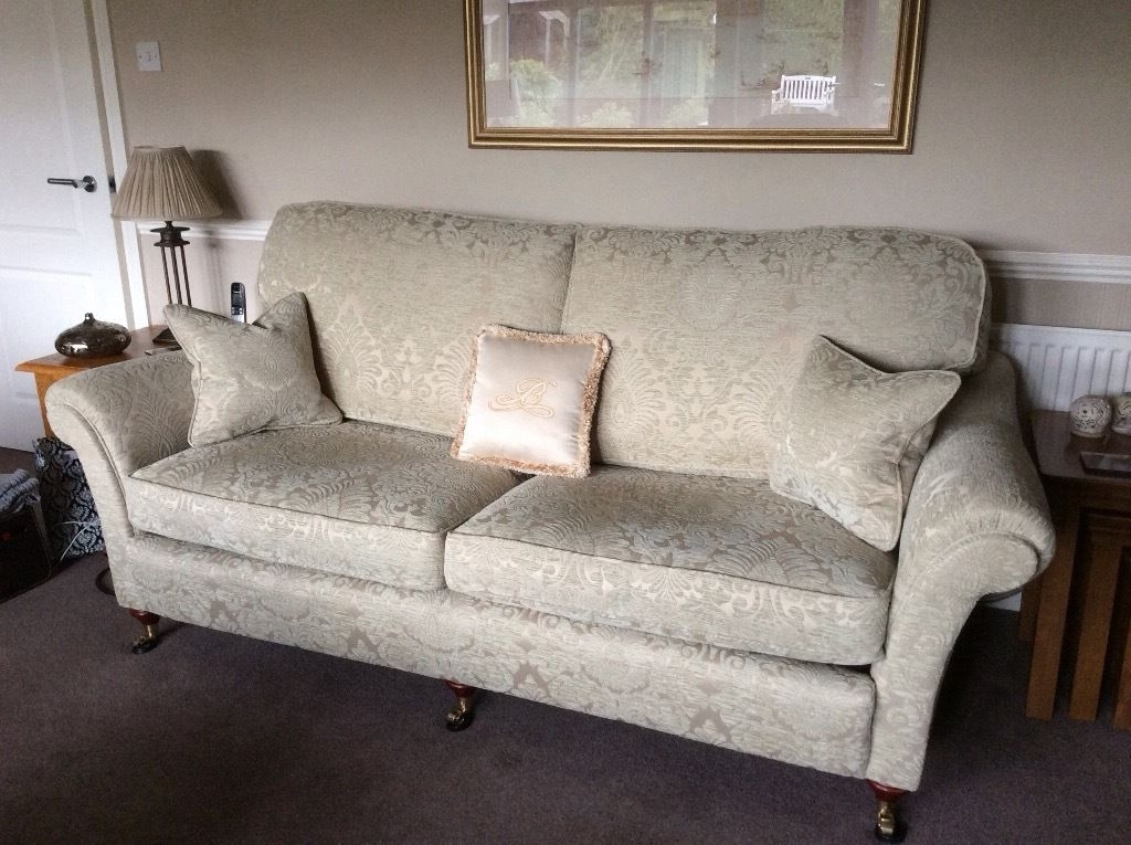 Vale Bridgecraft 'florence' Grand Sofa And Armchair Immaculate | In Within Florence Grand Sofas (Image 8 of 10)