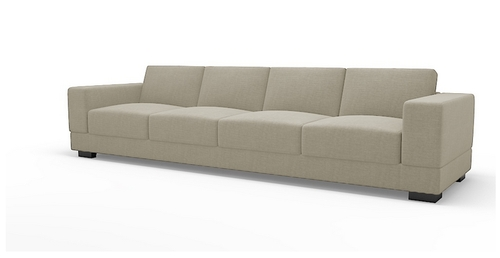 Vanity Four Seater Sofa, Sofas – Hinshitsu Manufacturing Private With Four Seater Sofas (Image 9 of 10)