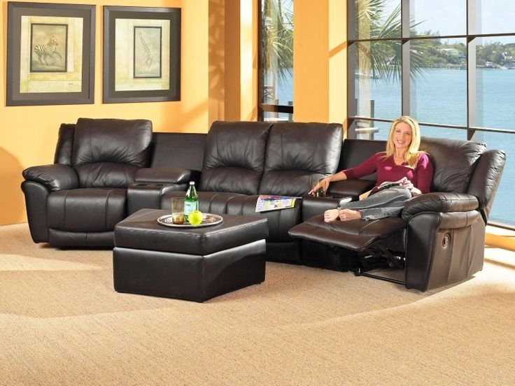 Vanity Recliners For Small Spaces Awesome Sectional Sofas With Within Sectional Sofas For Small Spaces With Recliners (Photo 9 of 10)