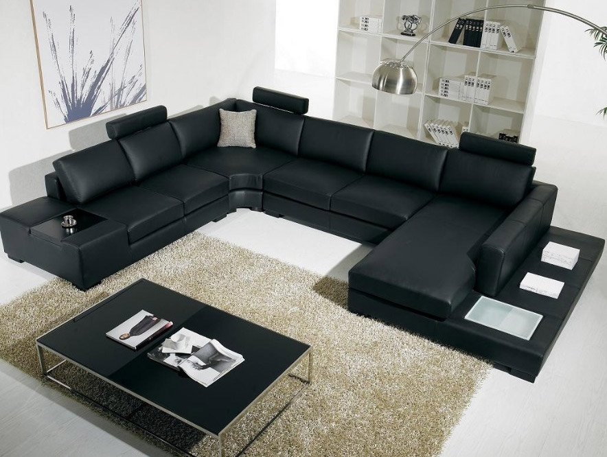 Vanity Sofa Glamorous Modern Leather Sectional Sofas With Tablejpg In Vt Sectional Sofas (Image 10 of 10)
