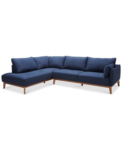Various Jollene 113 2 Pc Sectional Created For Macy S Furniture At Throughout Macys Sectional Sofas (Image 10 of 10)