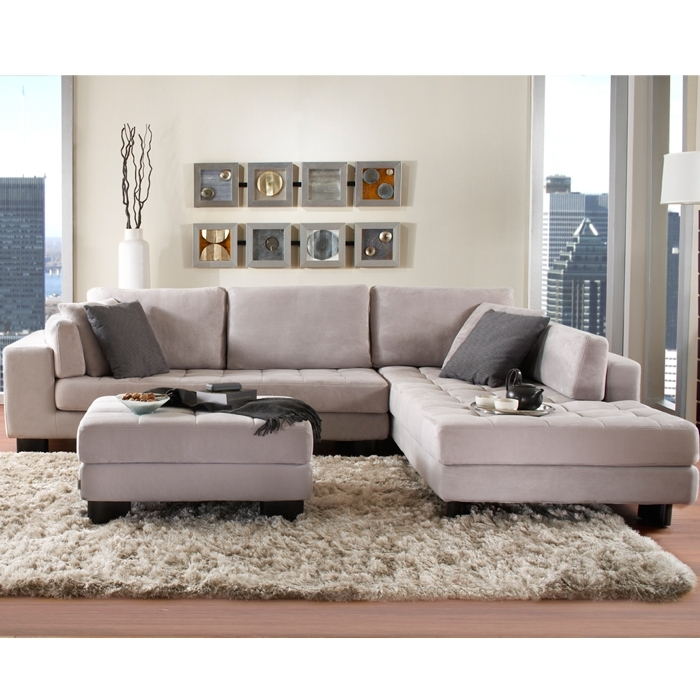 Vegas Fabric Sectional – Sectionals – Living Room – New York Style With Regard To Mobilia Sectional Sofas (Photo 1 of 10)