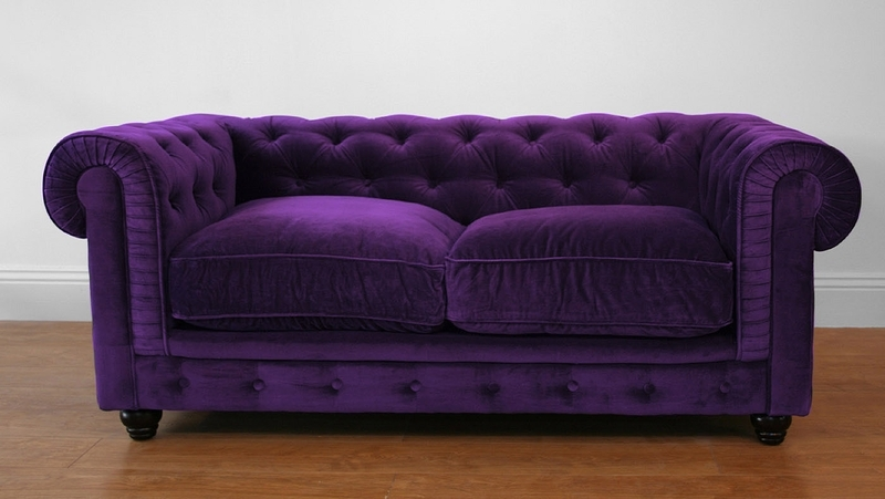 Featured Image of Velvet Purple Sofas