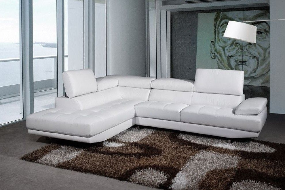 Ventura Left/hand Sofas | Red Corner Leather Sofas | Pinterest Intended For White Leather Corner Sofas (Photo 1 of 10)