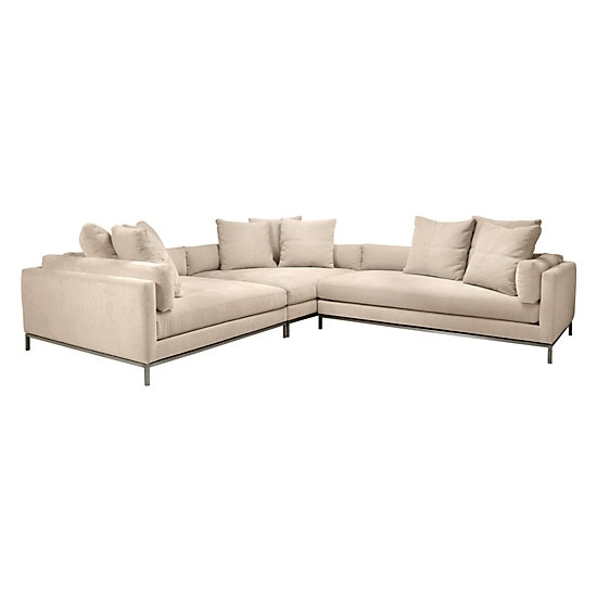 Ventura Sectional | Natural Del Mar Living Room Inspiration | Living Throughout Ventura County Sectional Sofas (View 4 of 10)