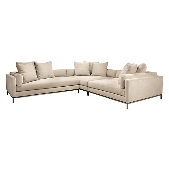 Ventura Sectional | Natural Del Mar Living Room Inspiration | Living With Ventura County Sectional Sofas (View 2 of 10)