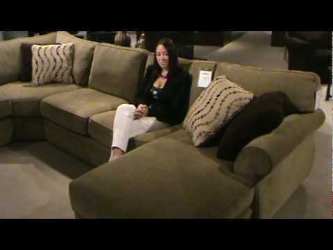 Veronica Sectional Sofabroyhill Furniture — Part I | Home In Broyhill Sectional Sofas (Image 10 of 10)