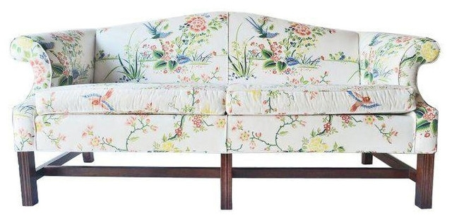 Vintage Floral Chintz Settee Chintz Sofa • Blumuh Design With Chintz Floral Sofas (Image 9 of 10)