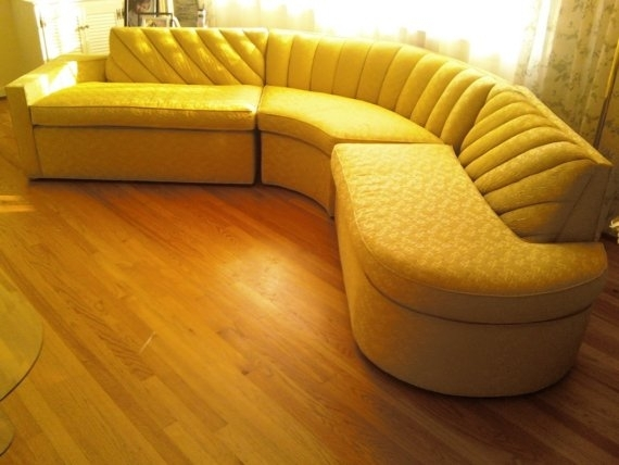 Vintage Mid Century Sectional Sofa – Large – Like New | Old And Intended For Vintage Sectional Sofas (Image 9 of 10)