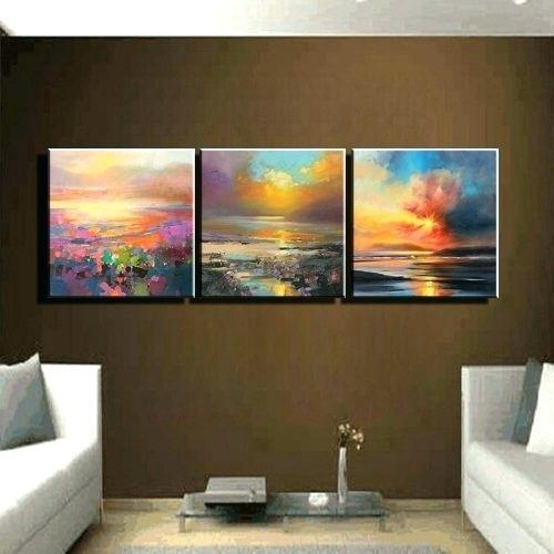 Wall Art 3 Piece – Boyintransit In Abstract Canvas Wall Art Iii (Image 14 of 20)