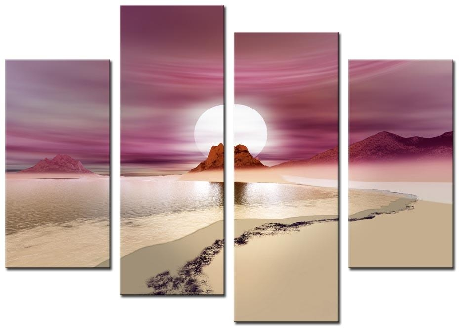 Featured Image of Pink Canvas Wall Art