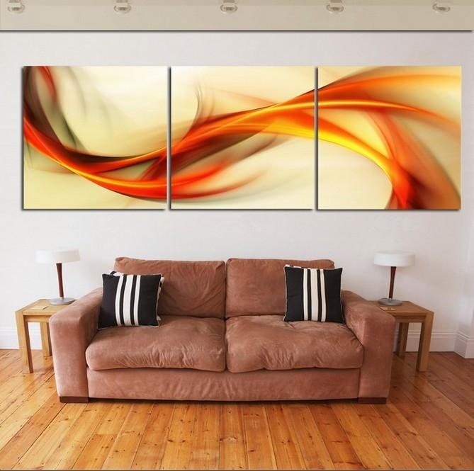 Wall Art: Best Collection Wall Art 3 Piece 3 Piece Wall Art Sets Within Abstract Canvas Wall Art Iii (Image 17 of 20)