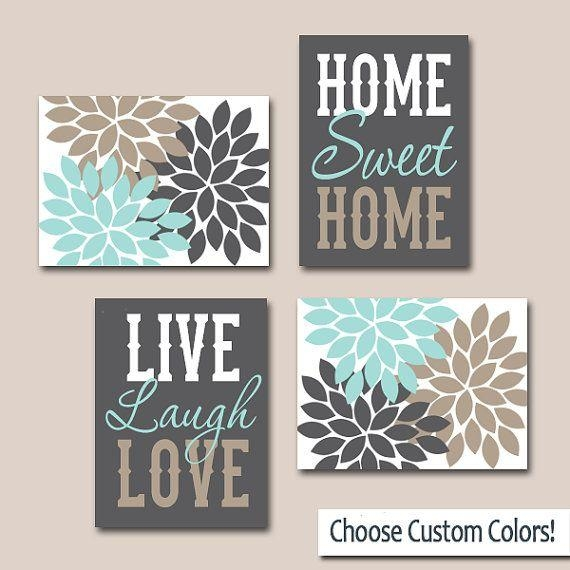 Wall Art Canvas Or Prints, Live Laugh Love Art, Home Sweet Home Inside Live Laugh Love Canvas Wall Art (View 2 of 20)
