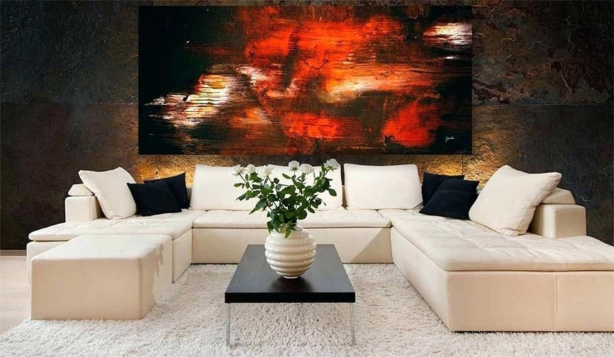 Wall Art Contemporary Living Room – Ironweb (Image 18 of 20)