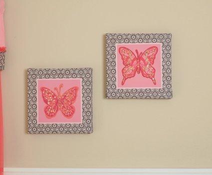 Wall Art Decor: Awesome Butterfly Canvas Wall Art Astounding Best Regarding Butterflies Canvas Wall Art (Image 18 of 20)