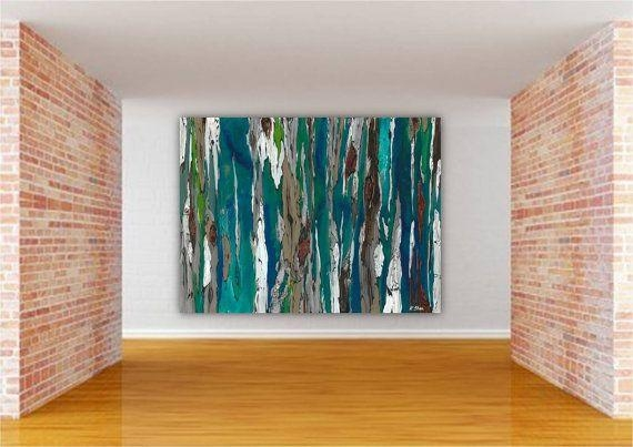 Wall Art Decor: Colorful Landscape Oversized Abstract Wall Art Inside Canvas Wall Art At Walmart (View 16 of 20)
