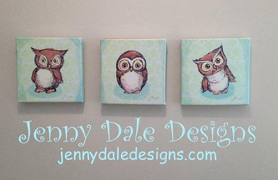 Wall Art Decor Ideas: Jenny Dale Nursery Wall Art Canvas Sample With Nursery Canvas Wall Art (Image 16 of 20)
