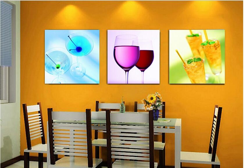 Wall Art Decor: Panels Hanging Cheap Kitchen Wall Art Abstract For Abstract Kitchen Wall Art (Image 18 of 20)