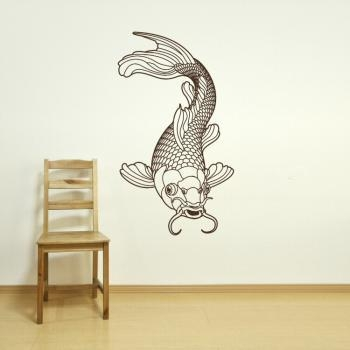 Wall Art Design Ideas: Adding Color Koi Wall Art Image Print Within Abstract Fish Wall Art (View 15 of 20)