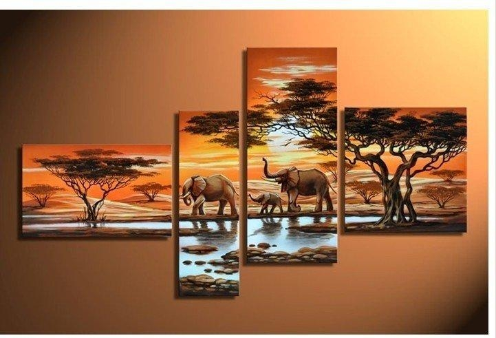 Wall Art Design Ideas: Aliexpress Decorations Hand Painted Wall Pertaining To Hand Painted Canvas Wall Art (Image 13 of 20)