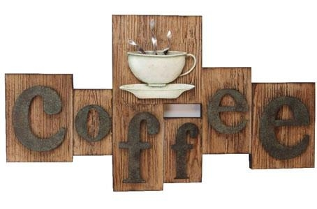 Wall Art Design Ideas: Contemporary Rustic Coffee Wall Art Motif Intended For Coffee Canvas Wall Art (Image 19 of 20)