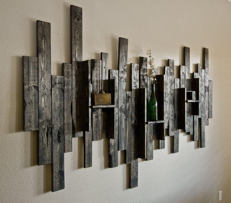 Wall Art Design Ideas: Display Shelf Rustic Wall Art Ideas Wall In Rustic Canvas Wall Art (Image 18 of 20)