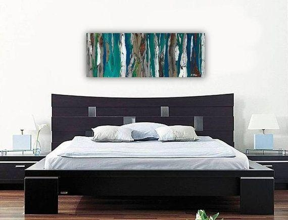 Wall Art Design Ideas: Original Painting Bedroom Wall Art Canvas Within Bedroom Canvas Wall Art (Image 18 of 20)