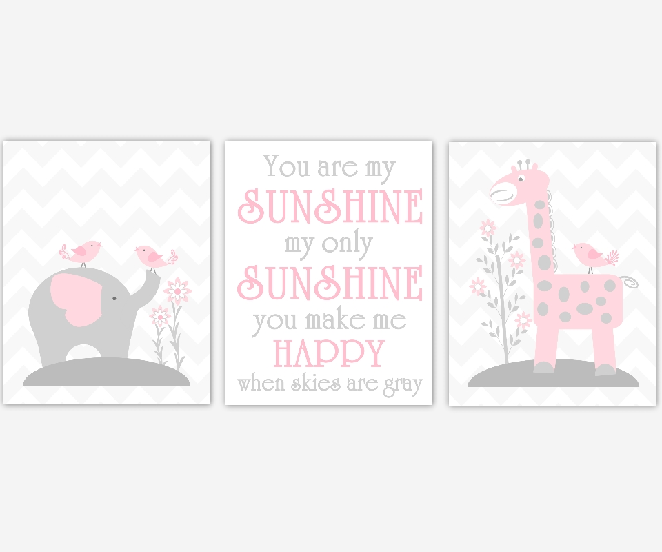 Wall Art Design: Nursery Canvas Wall Art Collection, Baby Canvas Intended For Baby Room Canvas Wall Art (Image 18 of 20)