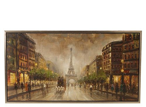 Wall Art Design: Paris Canvas Wall Art This Wooden Wine Rack Give Throughout Canvas Wall Art Of Paris (Image 18 of 20)