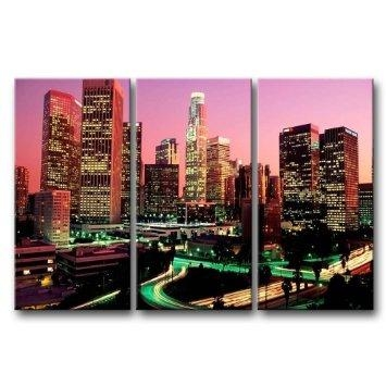 Wall Art Designs: Best 10 Amazing Wall Art Los Angeles Destination With Los Angeles Canvas Wall Art (View 4 of 20)