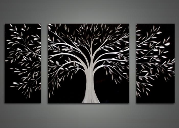 Wall Art Designs Black Wall Art Black Abstract Tree Metal Wall Intended For Abstract Metal Wall Art Painting (View 6 of 20)