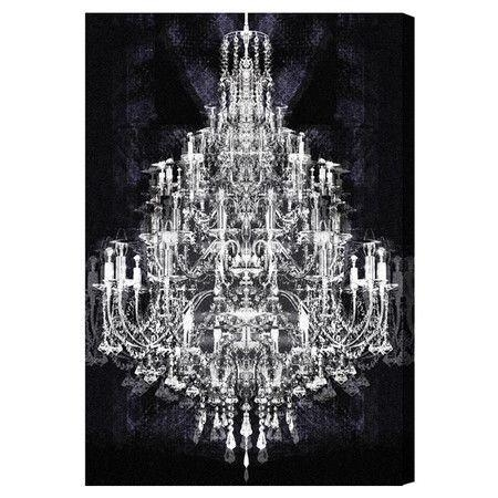 Wall Art Designs: Chandelier Wall Art Canvas Prints Home Decor Inside Chandelier Canvas Wall Art (Image 16 of 20)