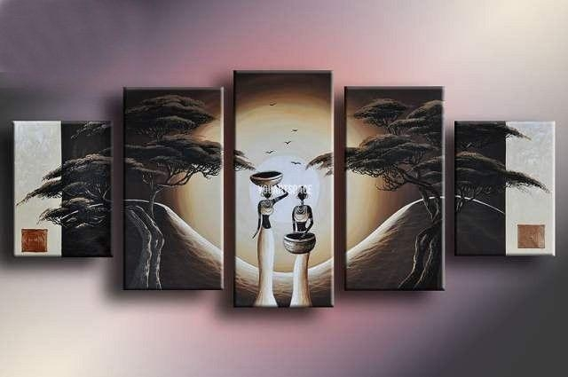 Wall Art Designs: Five Piece Canvas Wall Art Birds Hands Abstract For Abstract Landscape Wall Art (Image 19 of 20)