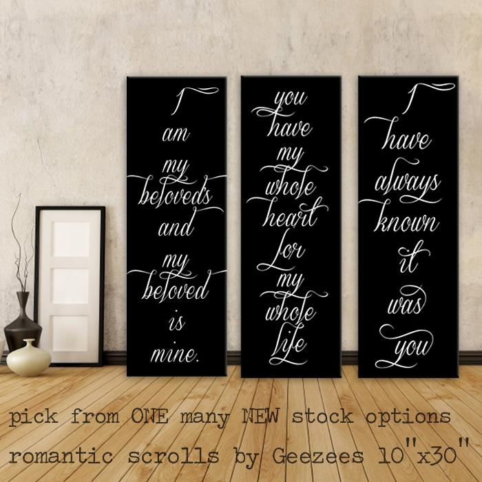 Featured Image of Love Canvas Wall Art