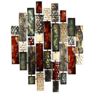 Wall Art Designs: Kirkland Wall Art Metallic Bricks Wall Art Within Kirkland Abstract Wall Art (View 7 of 20)
