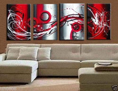 Wall Art Designs: Large Modern Wall Art Large Modern Abstract Art Within Modern Abstract Huge Oil Painting Wall Art (Image 17 of 20)