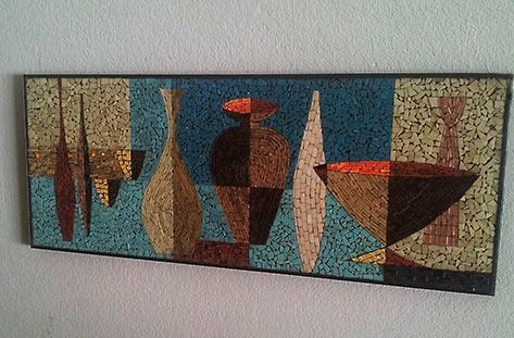 Wall Art Designs: Mosaic Wall Art Ceramic Wall Art Panels And Intended For Abstract Mosaic Art On Wall (Image 20 of 20)