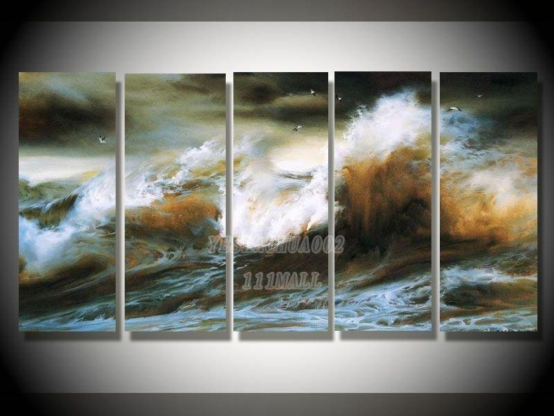 Featured Image of Abstract Nature Canvas Wall Art