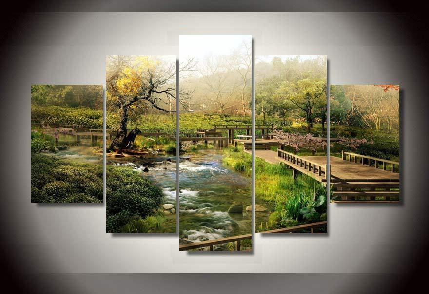 Wall Art Designs: Nature Wall Art Wall Art Natural Scenery Picture Regarding Nature Canvas Wall Art (Image 20 of 20)