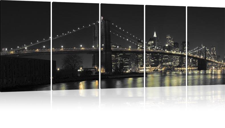 Wall Art Designs: New York Wall Art New York City Brooklyn Bridge Pertaining To Canvas Wall Art Of New York City (View 19 of 20)