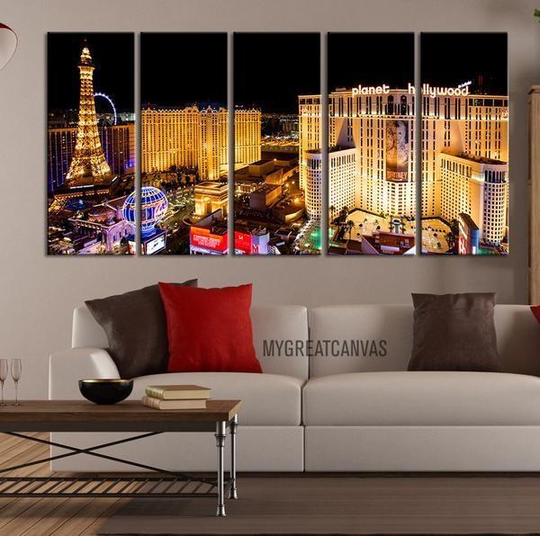 Wall Art Designs: Where To Buy Wall Art Large Wall Art Canvas Regarding Las Vegas Canvas Wall Art (View 2 of 20)