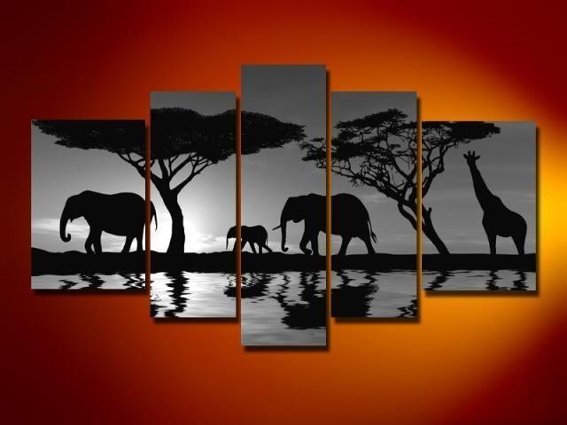 Wall Art. Glamorous Wall Art Paintings: Amazing Wall Art Paintings Throughout Safari Canvas Wall Art (Photo 12 of 20)