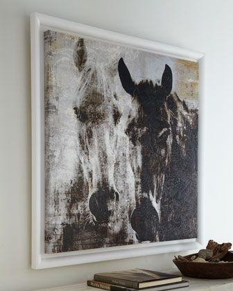 Wall Art: Horses Canvas Wall Art (#14 of 20 Photos)