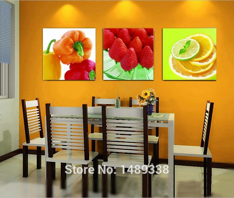 Wall Art: New Design Canvas Kitchen Wall Art Kitchen Prints And Inside Orange Canvas Wall Art (View 12 of 20)