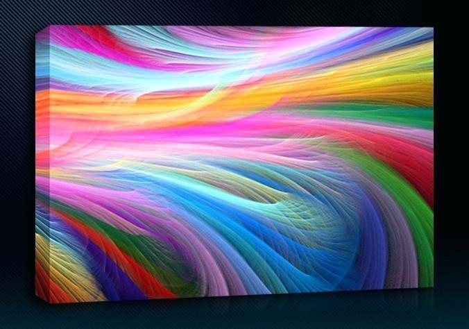 Wall Art Rainbow – Boyintransit Inside Rainbow Canvas Wall Art (Image 19 of 20)