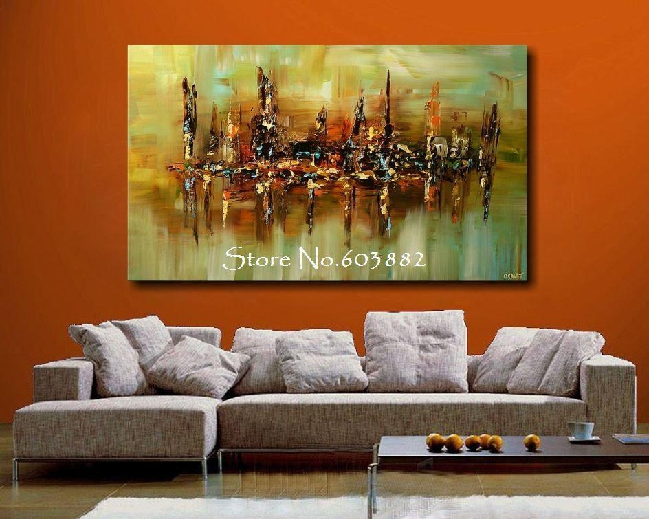Wall Art: Top Ten Gallery Abstract Canvas Wall Art Contemporary Regarding Large Abstract Canvas Wall Art (Image 20 of 20)