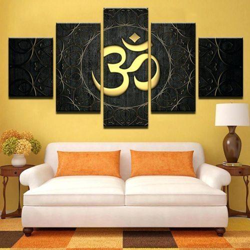 Wall Arts ~ Canvas Wall Art Uk Ganesh Om Wall Hanging Canvas Wall Within Next Canvas Wall Art (View 11 of 20)
