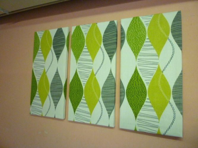 Wall Arts: Green Canvas Wall Art (Image 19 of 20)