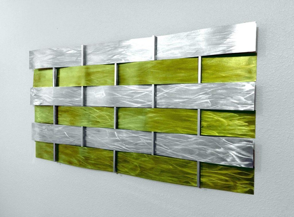 Wall Arts ~ Small Lime Green Canvas Wall Art Lime Green Wall Art Throughout Lime Green Abstract Wall Art (Image 19 of 20)